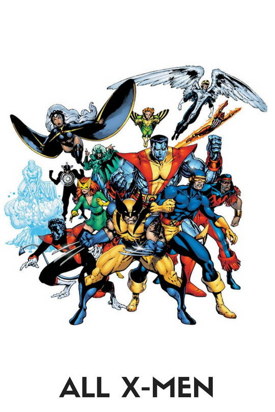 X-men Action Figures, Toys, Bobbleheads, Pops, Statues, Keychains, Wallets, Mobile Phone Cases, Laptop Skins, T-shirts, mugs and more, free shipping across India