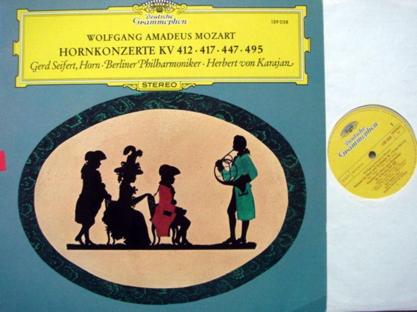 DG / SEIFERT-KARAJAN, - Mozart Horn Concertos, NM!
