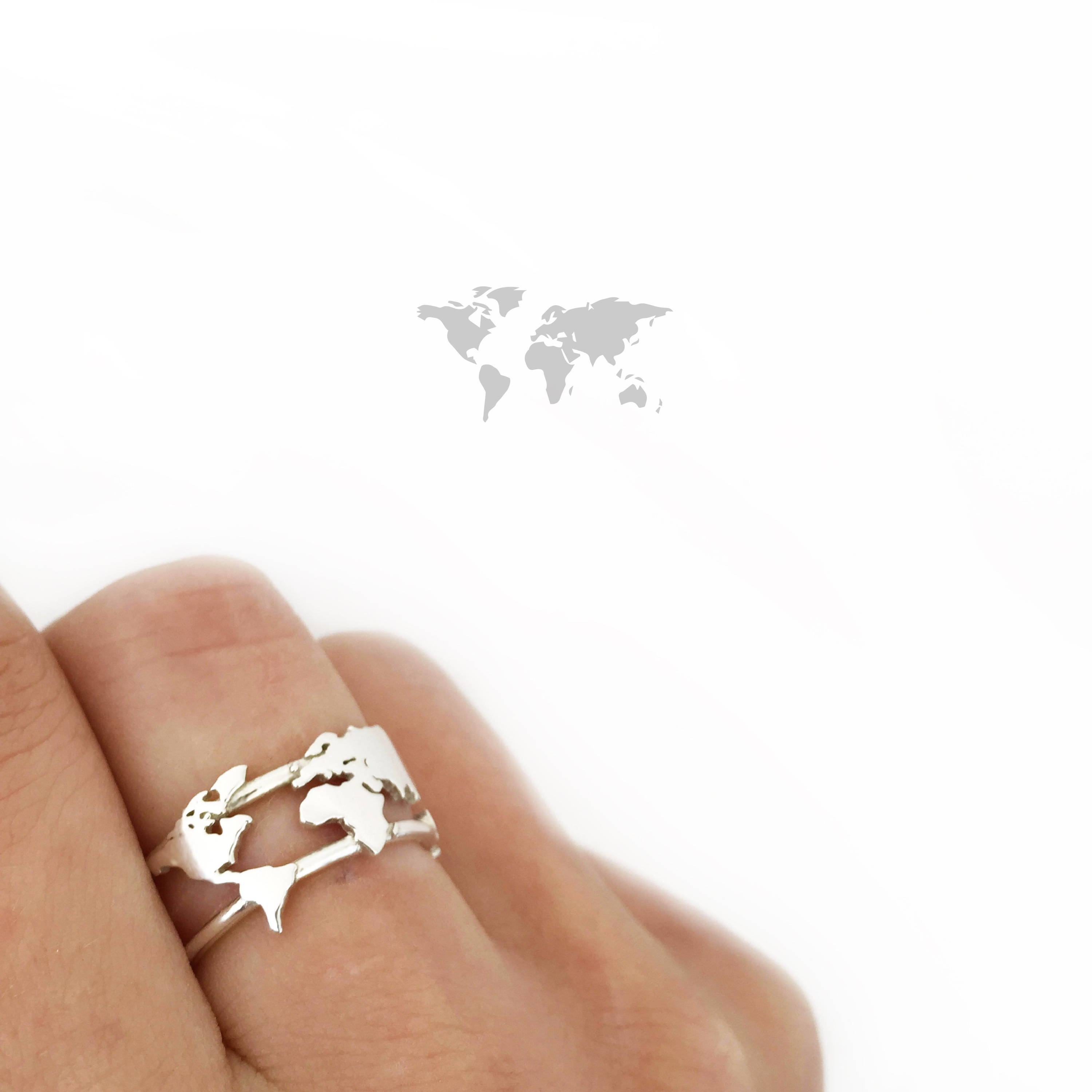 World map ring adventure at your fingertips of the free world map ring gumiabroncs Gallery