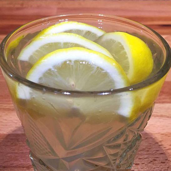 """Glas mir """"heißer Zitrone"""""""