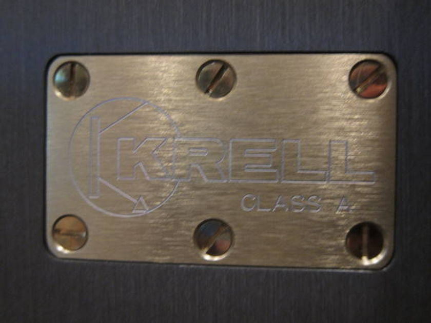 Krell Kma-160 Mono Amps - Class-A classics in every right!
