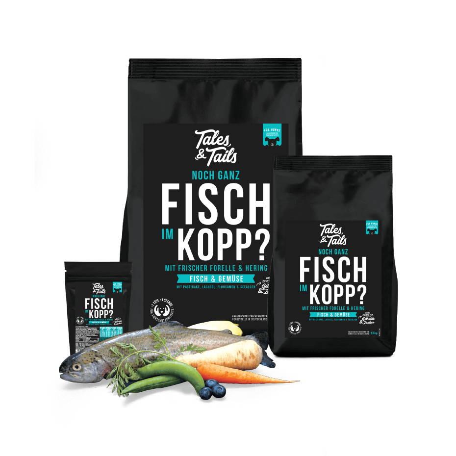 softes Trockenfutter für Hunde mit Fisch