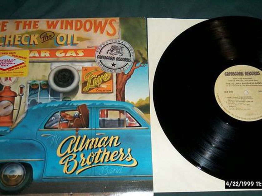 Allman Brothers - Wipe The Windows check the gas 2 lp nm