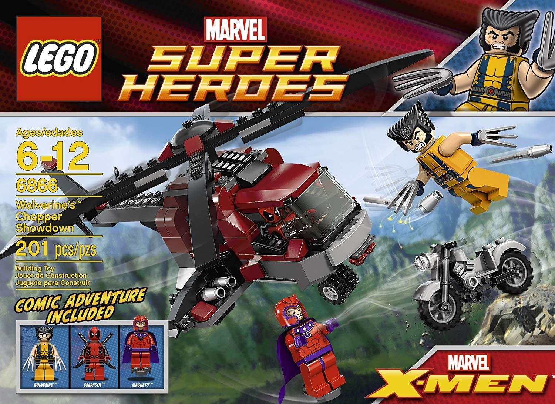 lego wolverines chopper showdown