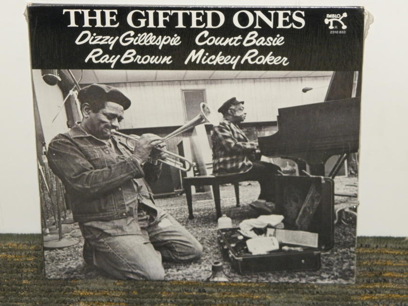 """Gillespie/Basie/Brown+more - """"The Gifted Ones""""  Pablo 2310 833 No barcodes STILL SEALED/NEW"""