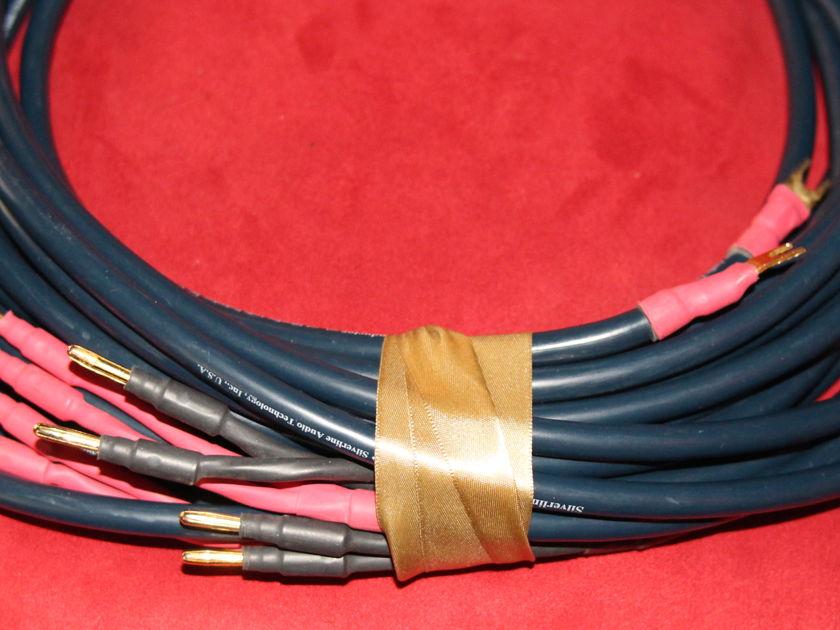 Silverline Audio Silverline Audio Conductor speaker wire 13ft pair
