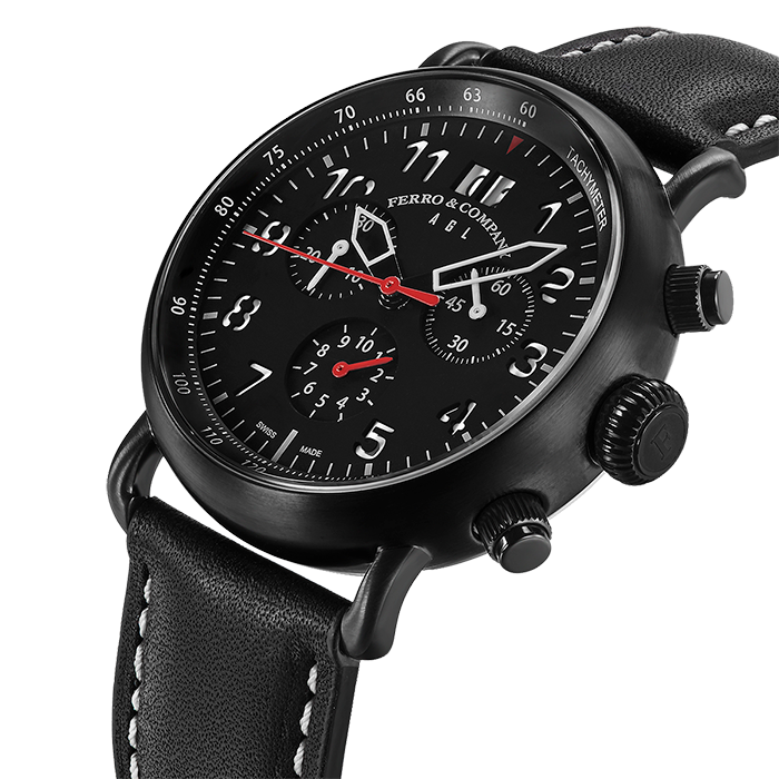 PILOT WATCH INSPIRED BY SPITFIRE AND MUSTANG P-51