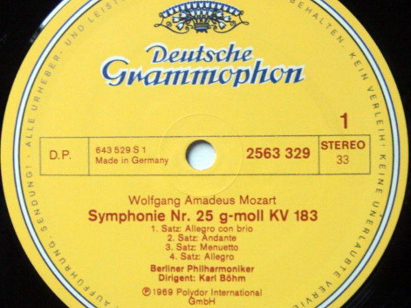 DG / BOHM-BPO, - Mozart The Great Symphonies (No.25~41), MINT, 7LP Box Set!