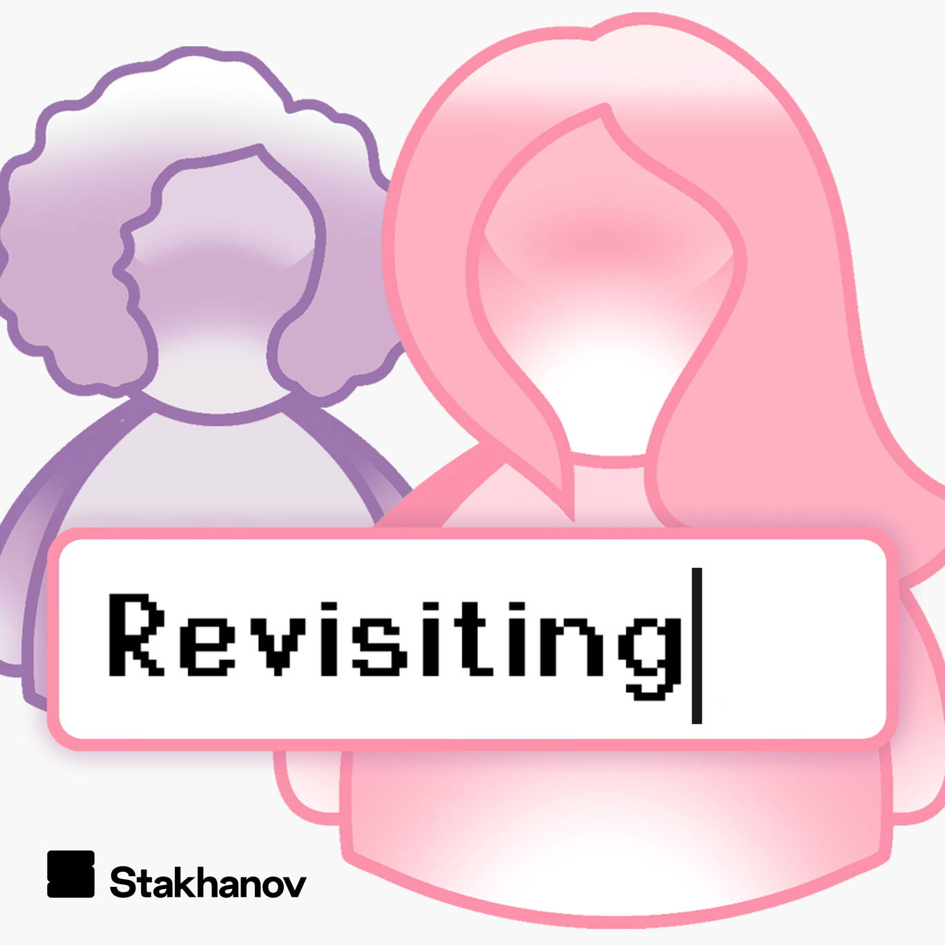 The artwork for the Revisiting podcast.