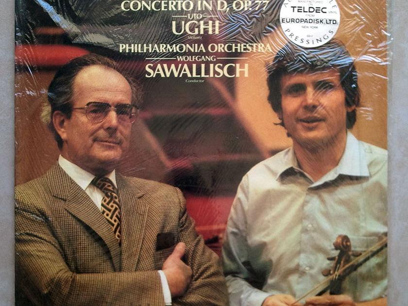 Sealed RCA Digital | UGHI/SAWALLISCH/BRAHMS - Violin Concerto / Audiophile Pressings