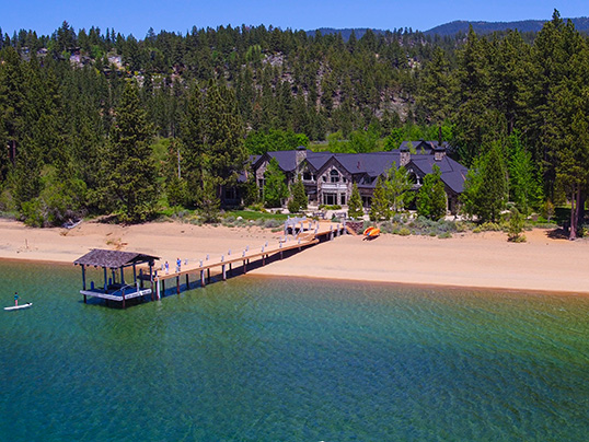 "Hamburg - Engel & Völkers Lake Tahoe has just brokered the Sierra Sunset ranch for 38 million US dollars. The iconic opening credits to the television series ""Bonanza"" were filmed on its land. (Image source: Engel & Völkers Lake Tahoe)"