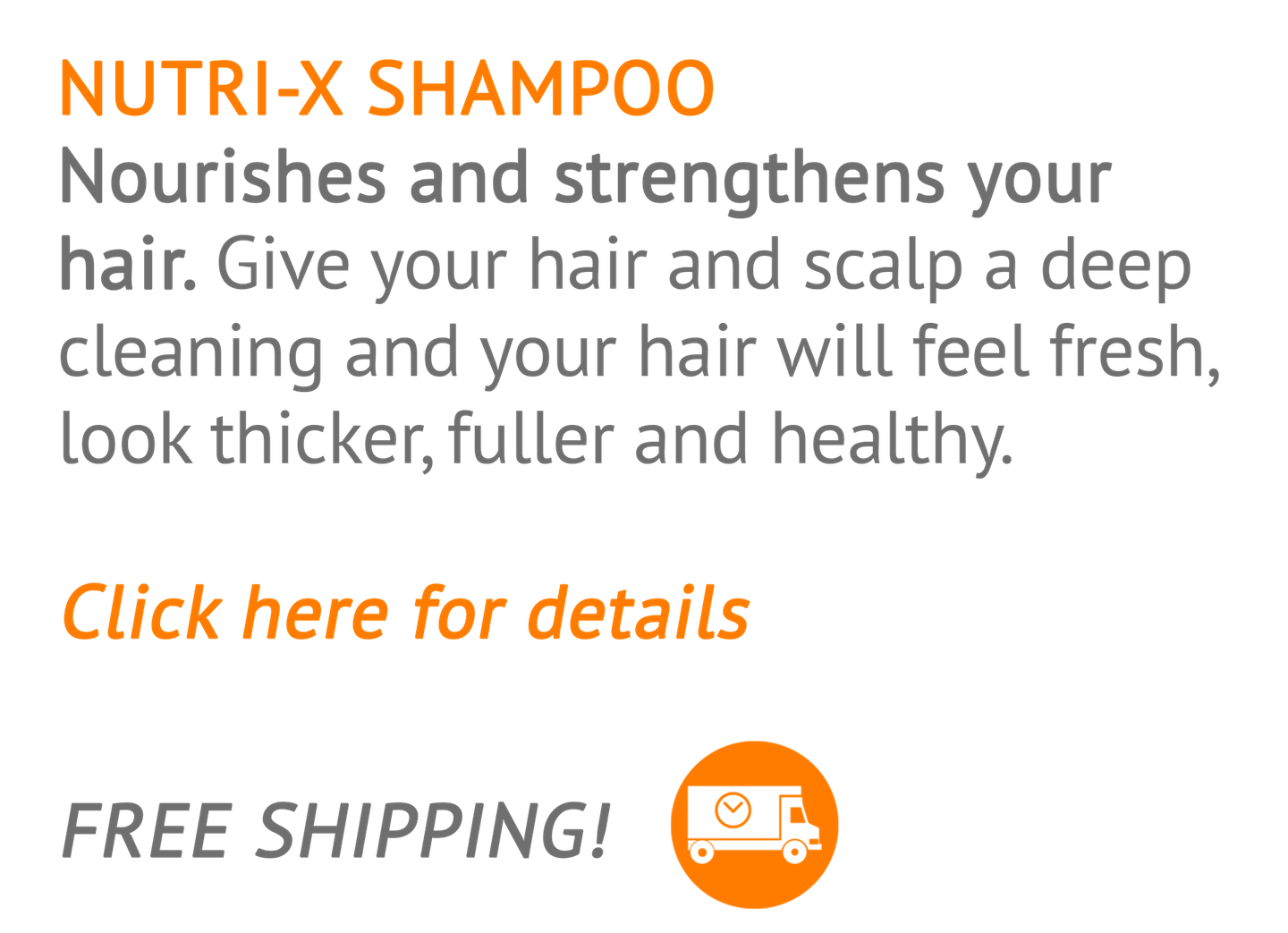 Nourishes and strengthens hair