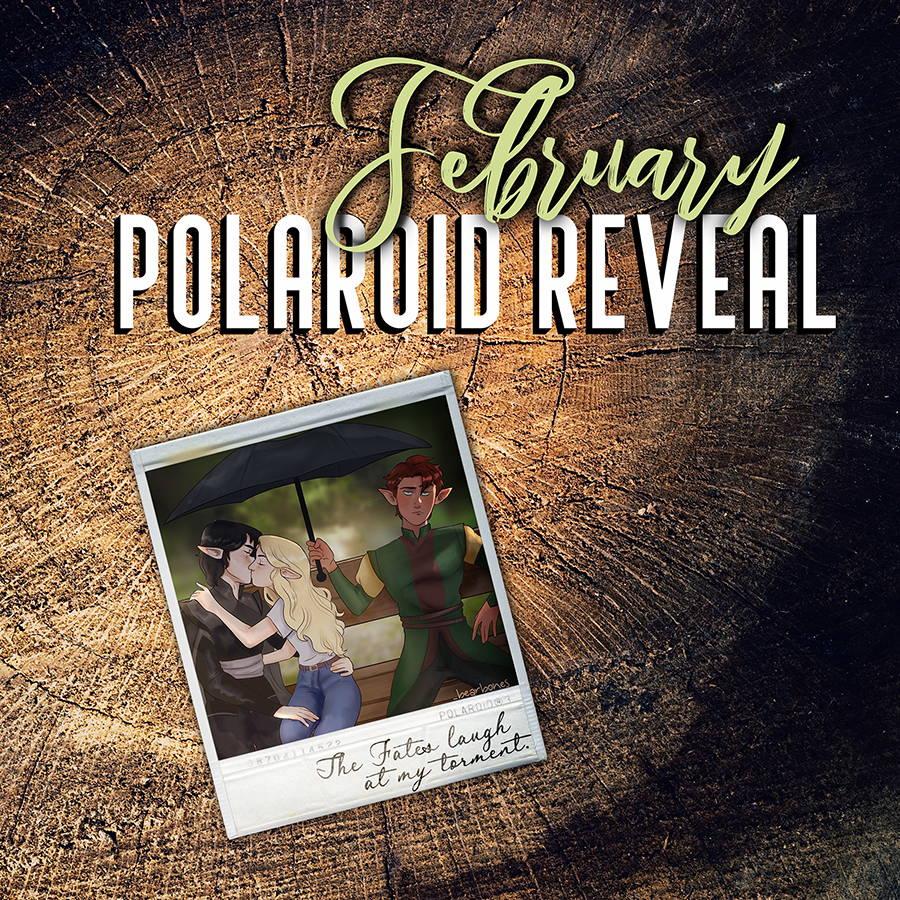 February Polaroid Reveal. Polaroid inspired by The Iron Fey Series.