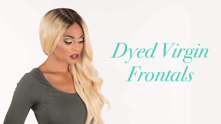 Dyed Virgin Frontals