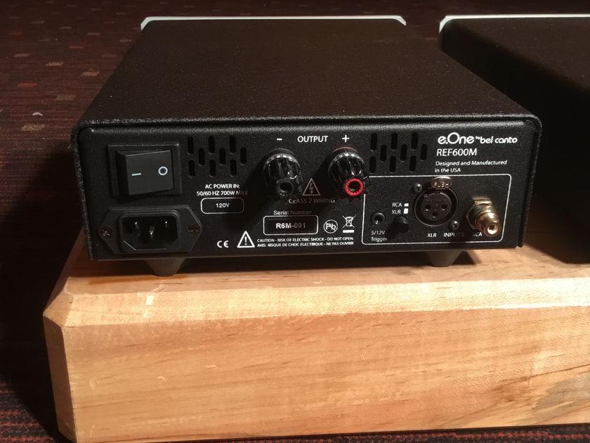 Bel Canto Design e.one Ref600m Mono block amplifiers
