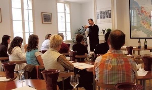 Экстерн-курсы в «школе Сомелье» в городе Бордо