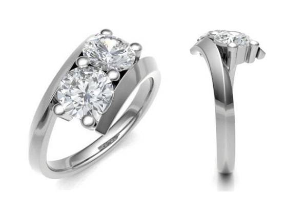 Design your own diamond promise ring - Pobjoy Diamonds