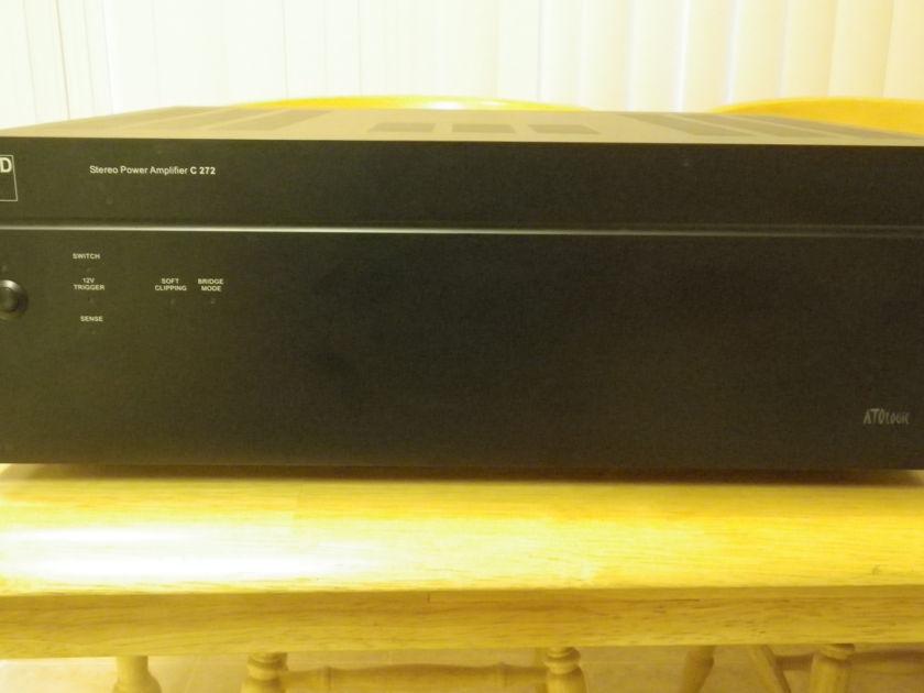 NAD C 272 Power Amplifier