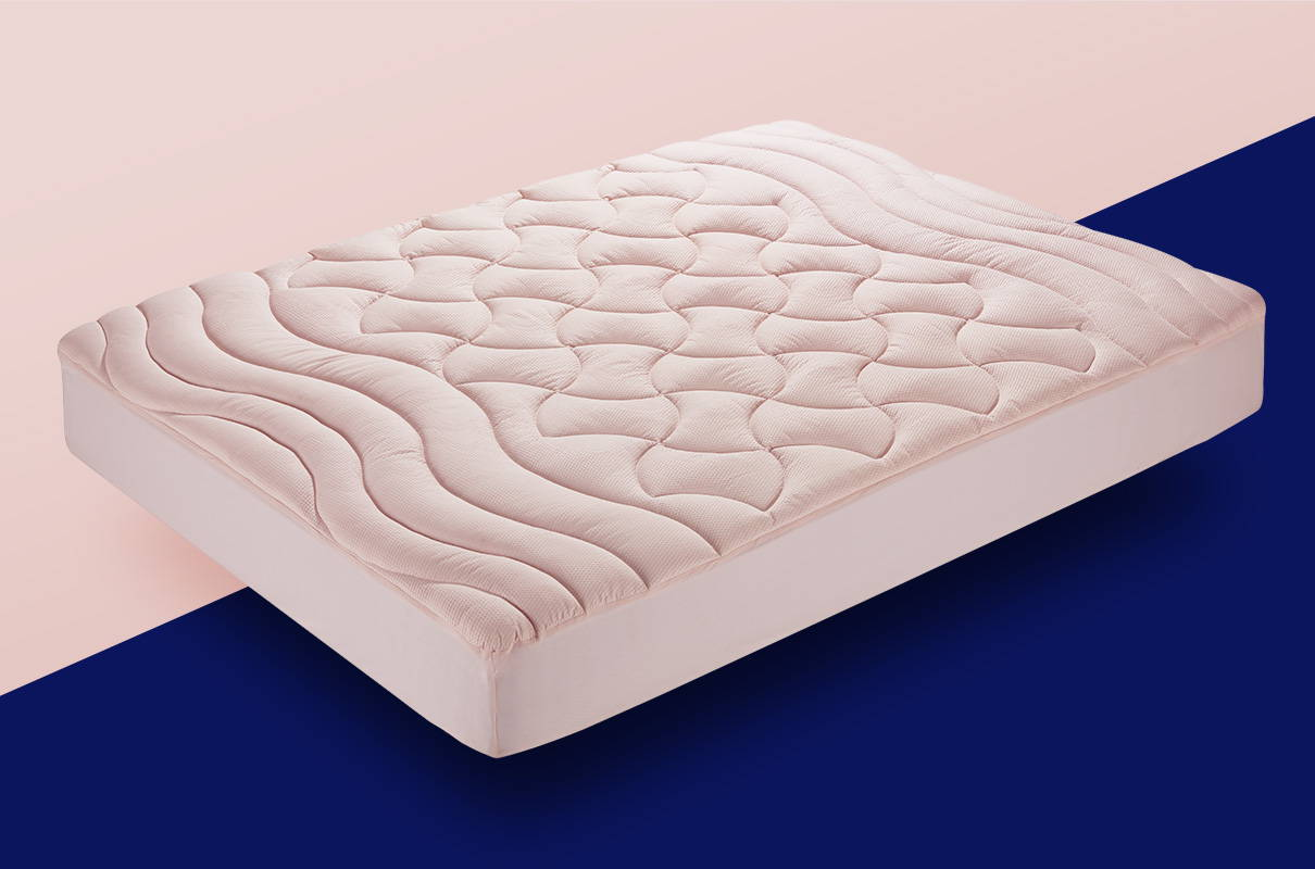sleep zone bedding website store products collection  basic quilted mattress pad white