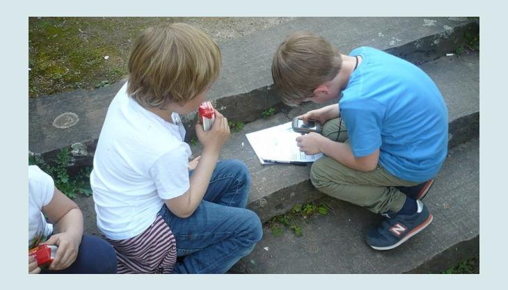 geocaching in düsseldorf kinder gps gerät