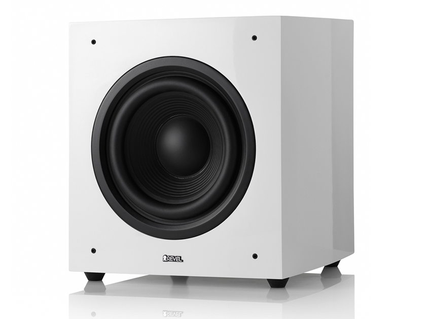 "Revel Concerta2 B10 Powered Subwoofer  800W 10"" in white White (Open Box)"