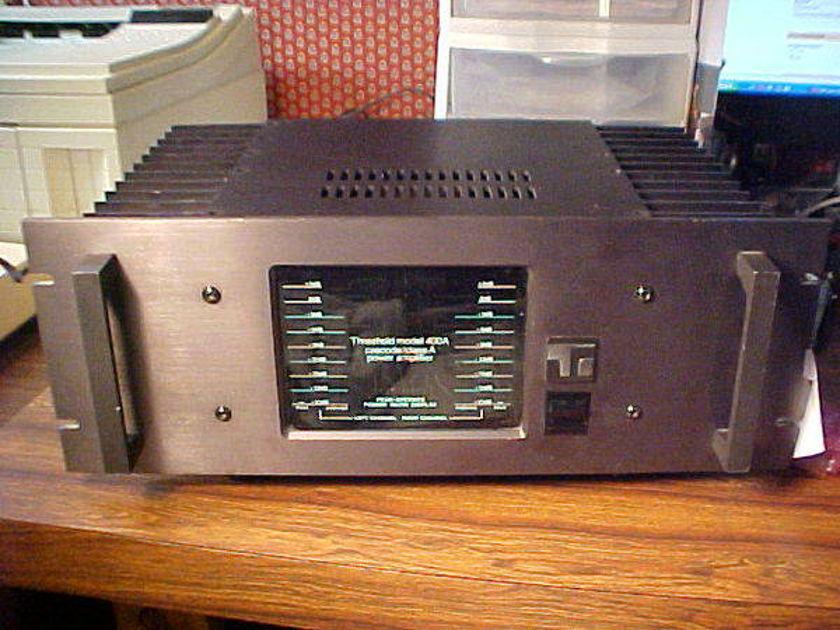 Threshold 400A power amplifier
