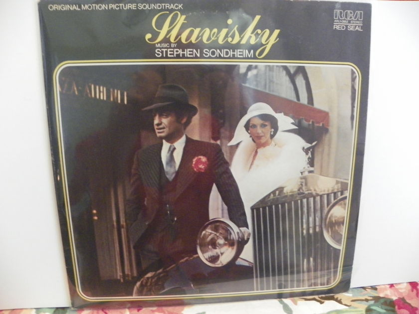 STEPHEN SONDHEIM - STAVISKY ORIGINAL MOTION PICTURE SOUNDTRACK
