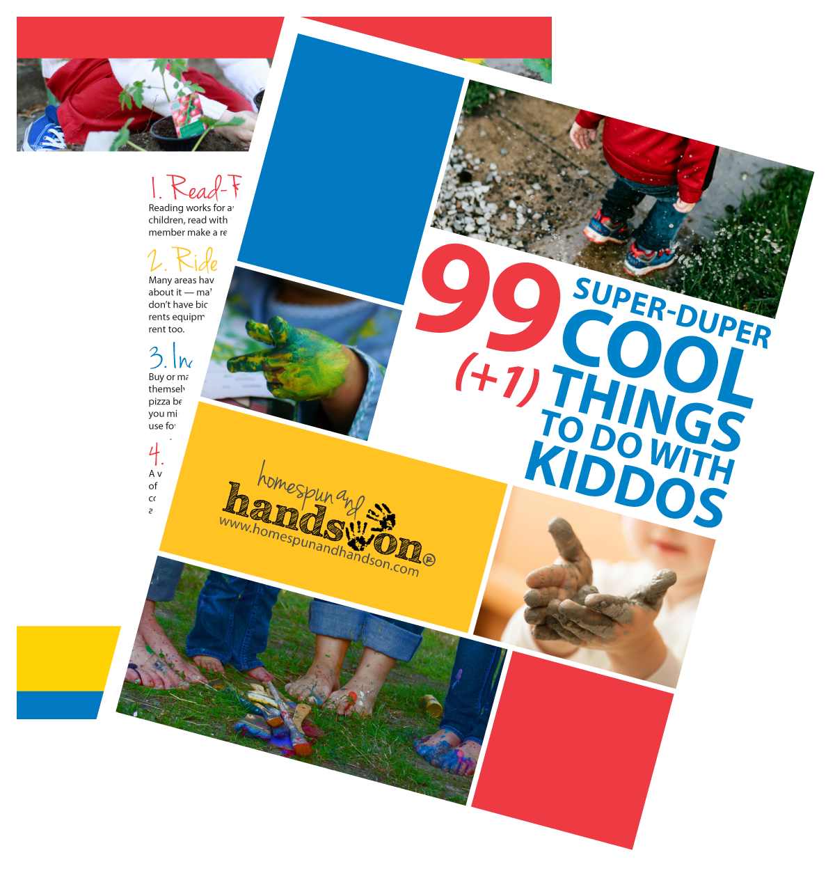 eBook — 99 Super-Duper Cool Things to Do with Kiddos