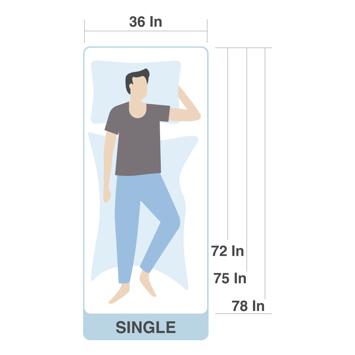 Cm single bed dimensions Beds Dimensions