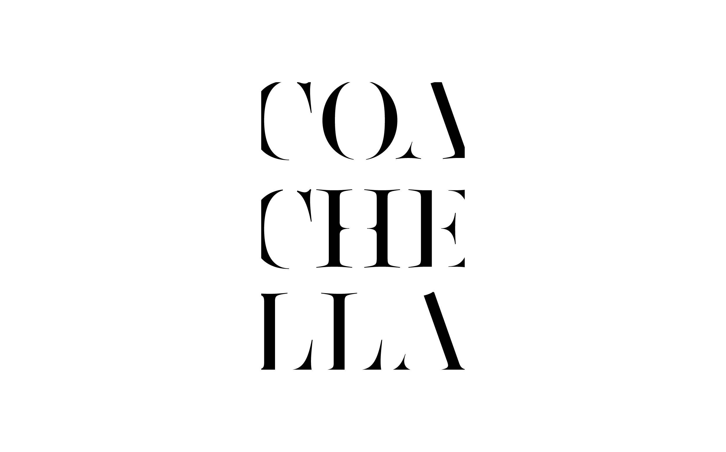 Coachella - Custom sexy type collection by Moshik Nadav Typography
