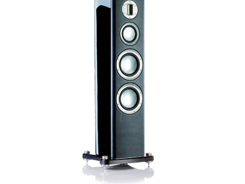 MONITOR AUDIO Platinum PL200 (Series 1) Floorstanding Speakers (Black Lacquer) - 35% Off; Brand New-in-Box; Full Warranty