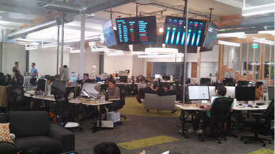 Inside the new Wealthfront office in Palo Alto