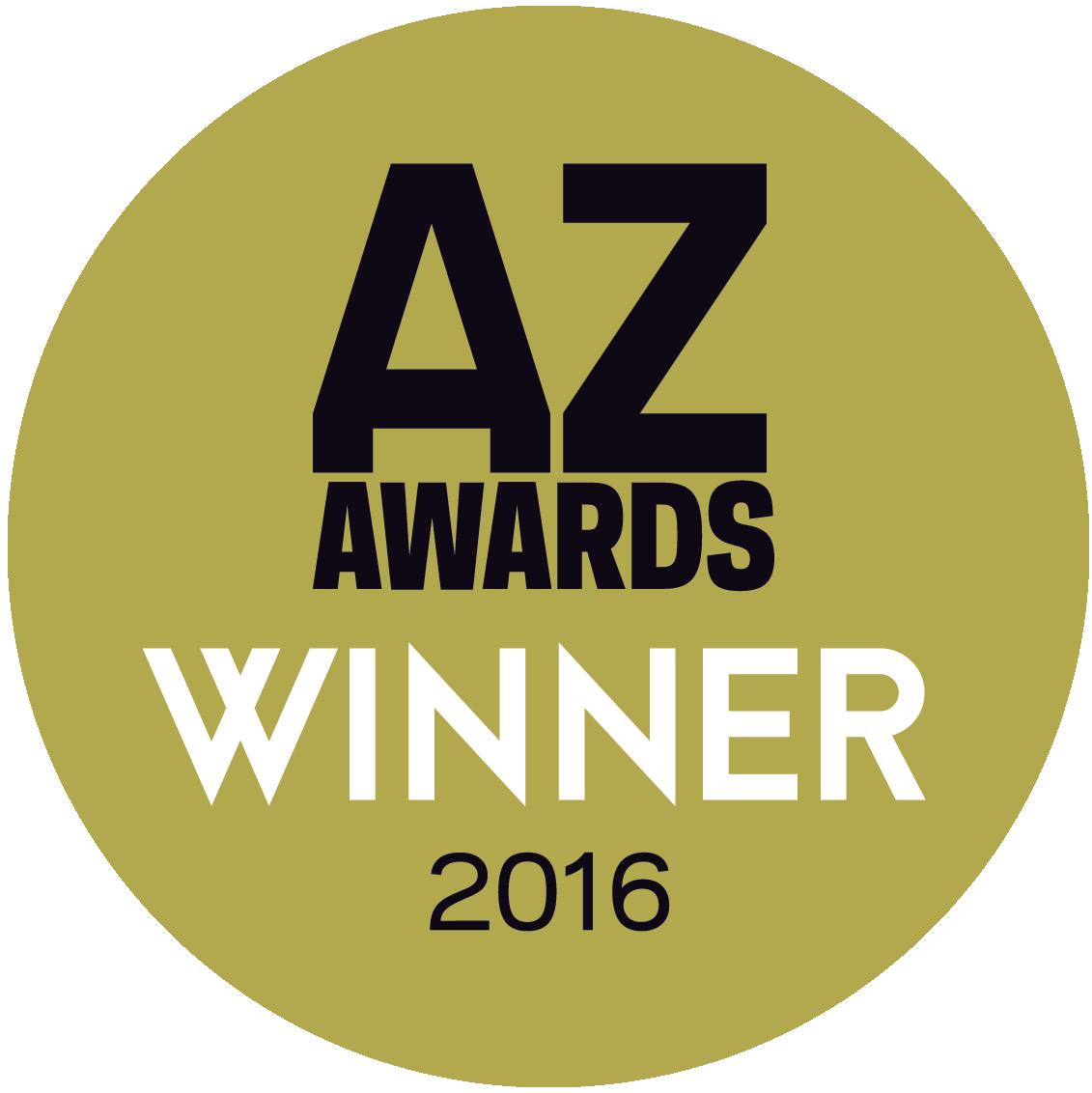 Az awards winner 2016