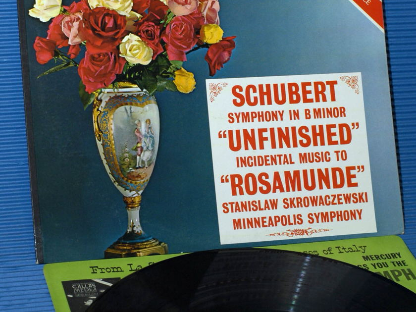 "SCHUBERT / Skrowaczewski   - ""Unfinished Symphony"" -  Mercury Living Presence 1960s early pressing"