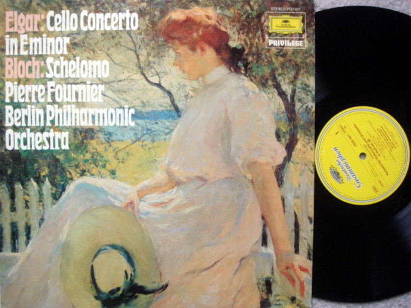 DG / Elgar Cello Concerto, - FOURNIER/WALLENSTEIN/BPO, MINT!