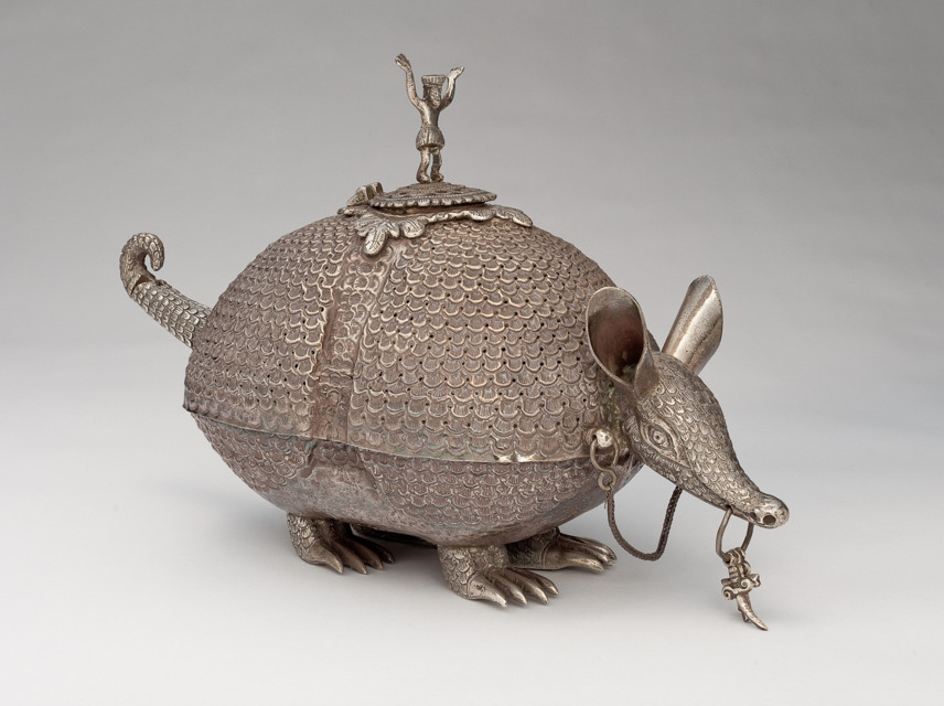 Incense Burner In The Form of An Armadillo