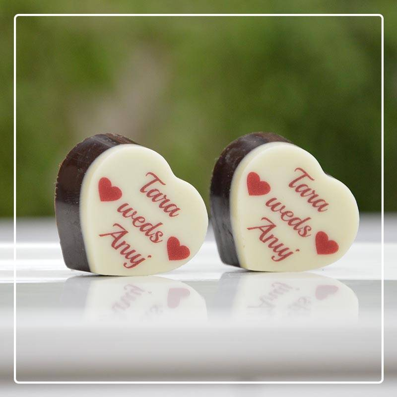 Customized chocolate return gifts for marriage