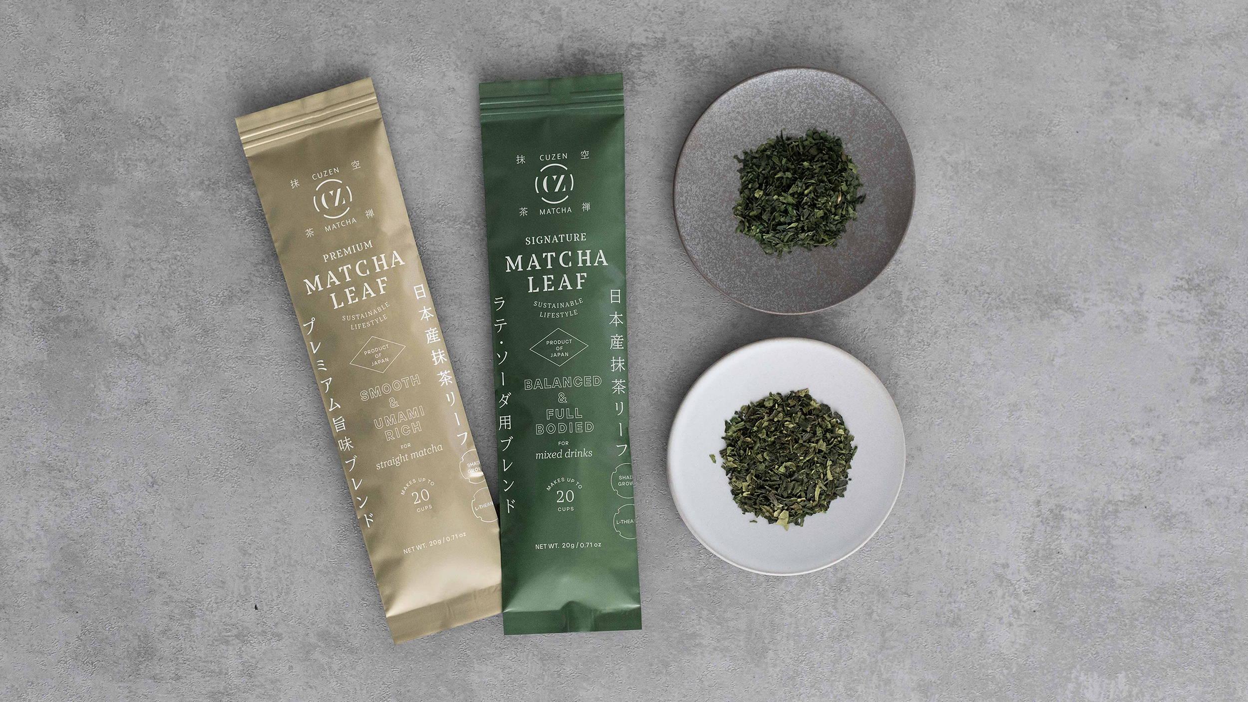 Japanese matcha tea leaves | Premium and Signature