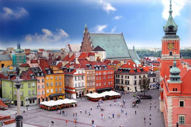 Обзорная экскурсия по Варшаве. Пешеходная экскурсия.