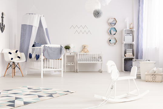 Barcelona - Gender neutral nursery: designing for both sexes