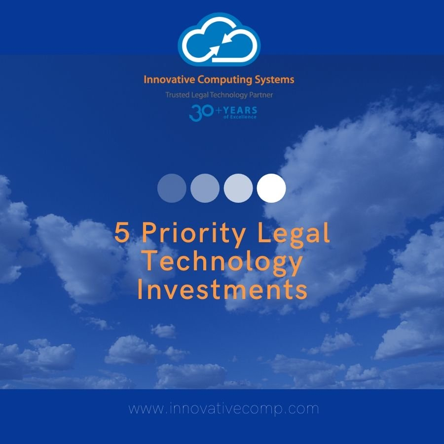 How to Prioritize Your Legal Technology Investments