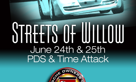 Porsche Owners Club Streets of Willow, June 24-25