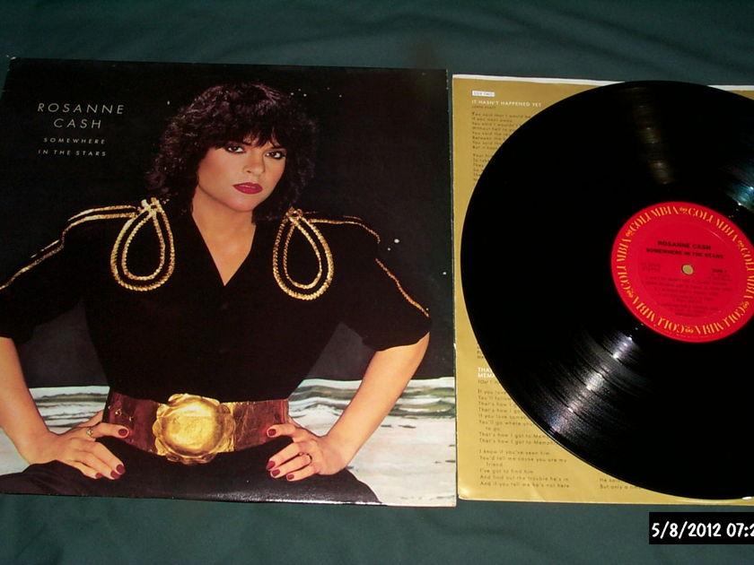 Roseann Cash - Somewhere In The Stars LP NM