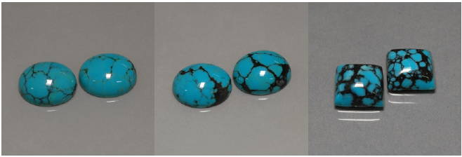 Is turquoise green or blue yves lemay jewelry