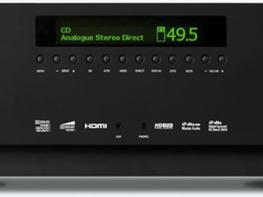 Arcam AVR600. Their flagship receiver. Fantastic HT, and 2 ch. in a single unit. Free U.S. shipping!
