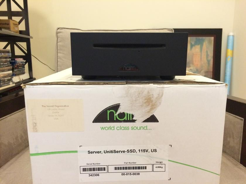 Naim Audio Unitiserve SSD Slot-loading, CD-ripping, hard-disc music player and server