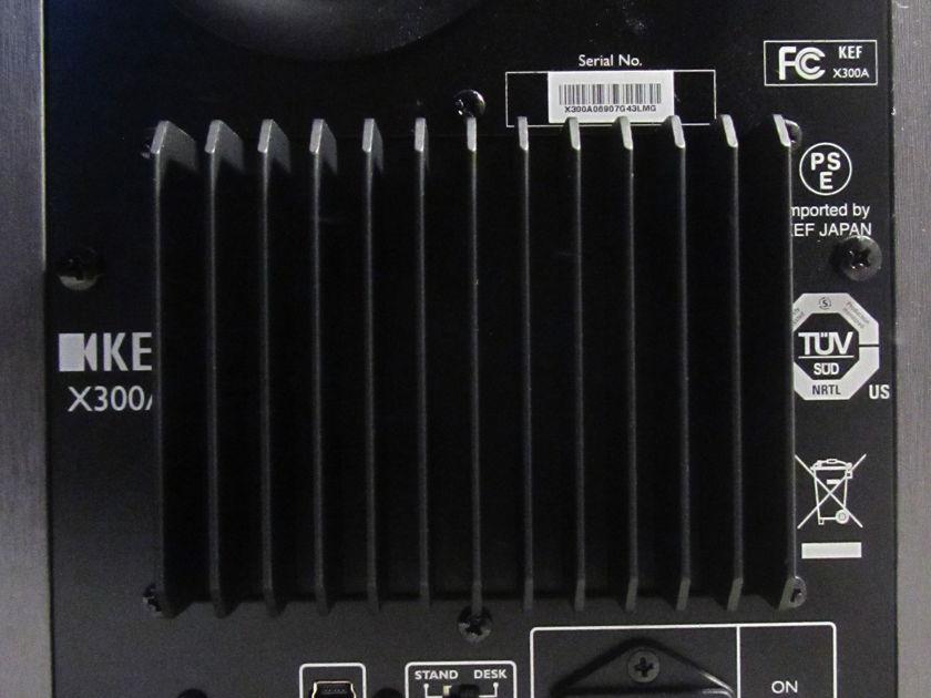 KEF X300A powered speakers