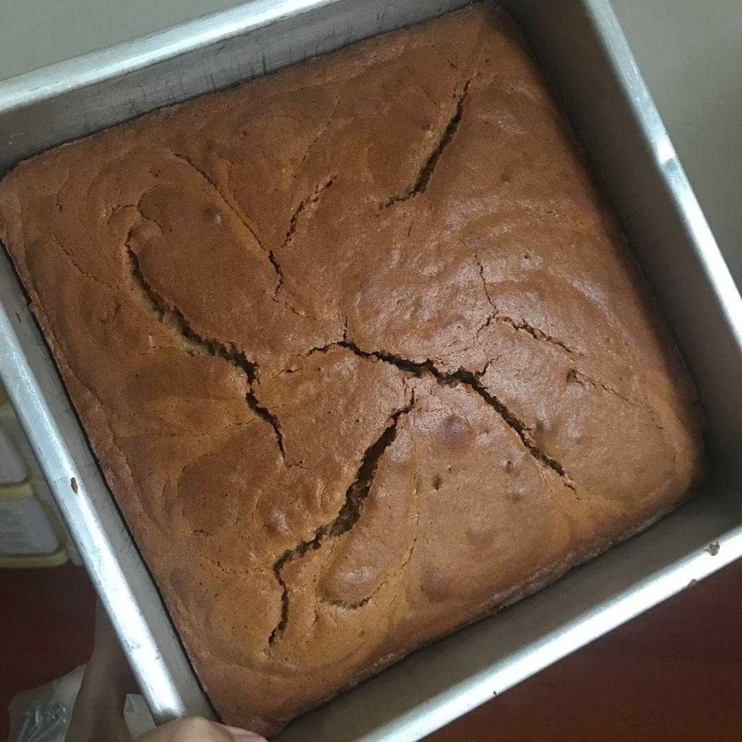 Coffee cake for tea. Tastes great as I used brown sugar instead. Yummy 🤤 👍🏻