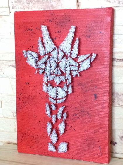 Панно Жираф string art (для примера)