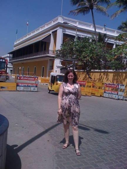 government building architecture Pondicherry